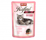 ANIMONDA Rafine® Soupe Kitten Shrimps Паучи для котят из мяса домашней птицы и креветок уп=/100г/